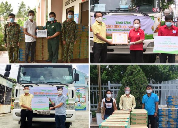 Vinasoy hỗ trợ tuyến đầu và cộng đồng một triệu sản phẩm sữa Fami - Ảnh 3.
