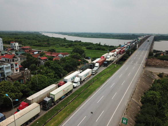 Đề nghị các sở giao thông vận tải hướng dẫn đơn vị vận tải đăng ký 'luồng xanh' - Ảnh 1.