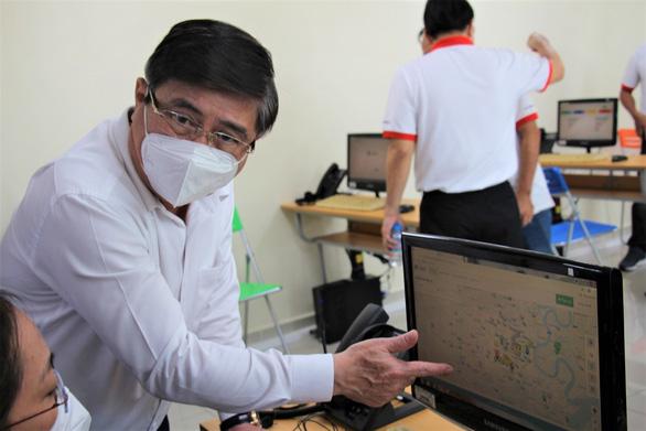 Chủ tịch UBND TP.HCM Nguyễn Thành Phong kiểm tra tại Trung tâm cấp cứu 115 - Ảnh 2.
