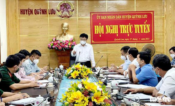 Hai nữ nhân viên bệnh viện mắc COVID-19, giãn cách một huyện ở Nghệ An - Ảnh 1.