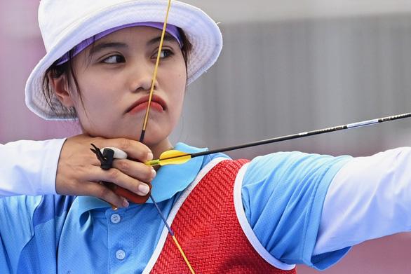 Cập nhật Olympic 2020: Ánh Nguyệt dừng bước khi thất bại ở loạt mũi tên vàng - Ảnh 1.