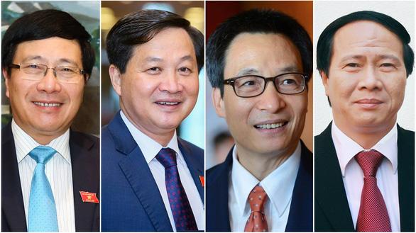 Quốc hội phê chuẩn 4 phó thủ tướng và 22 thành viên Chính phủ nhiệm kỳ mới - Ảnh 1.