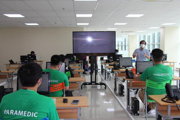 Vận hành trung tâm cấp cứu 115 tại trụ sở Công ty phần mềm Quang Trung - Ảnh 1.