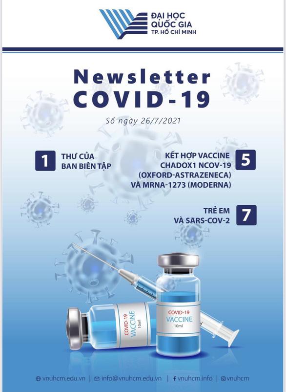 Đại học Quốc gia TP.HCM ra mắt chuyên trang thông tin về COVID-19 - Ảnh 1.