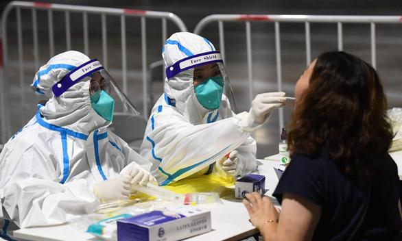 Thành phố Nam Kinh có số ca nhiễm trong cộng đồng cao kỷ lục - Ảnh 1.