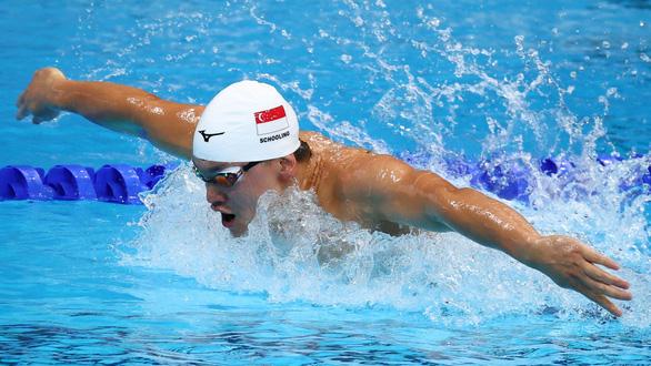 Joseph Schooling gây thất vọng khi bị loại sớm ở nội dung từng giành HCV Olympic - Ảnh 1.