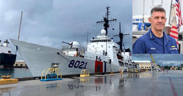 Mỹ cam kết giúp Việt Nam tăng cường năng lực hàng hải - Ảnh 1.
