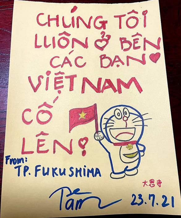 Người Việt tại Nhật gửi thực phẩm, lời chúc yêu thương đến đoàn thể thao Việt Nam - Ảnh 1.