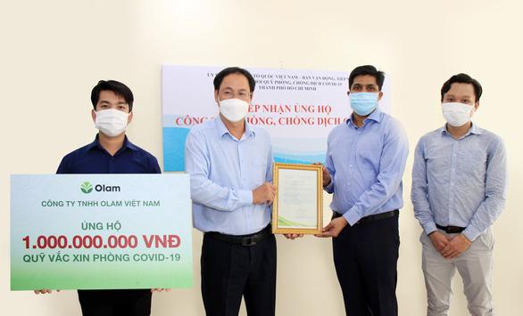 Olam Việt Nam chung sức giải bài toán vắc xin COVID-19 - Ảnh 1.