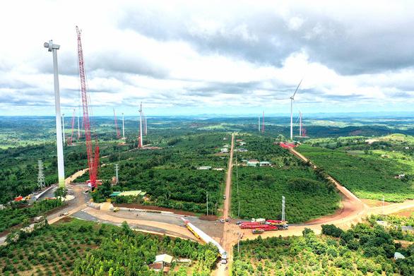 Điện gió Ea Nam: Siết phòng dịch để dự án kịp cán đích - Ảnh 3.