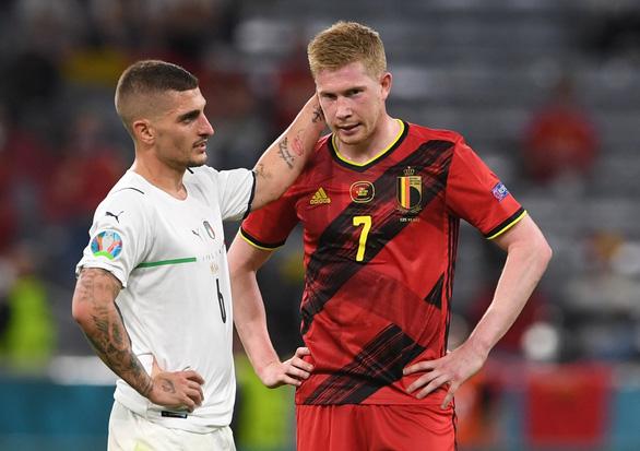 De Bruyne vẫn thi đấu trận gặp Ý dù bị đứt dây chằng - Ảnh 1.