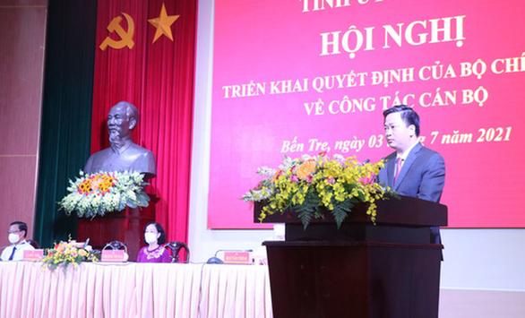 Chủ tịch hội đồng quản trị VietinBank làm bí thư Tỉnh ủy Bến Tre - Ảnh 1.