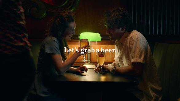 AB InBev tung chiến dịch Let's Grab A Beer - Ảnh 1.