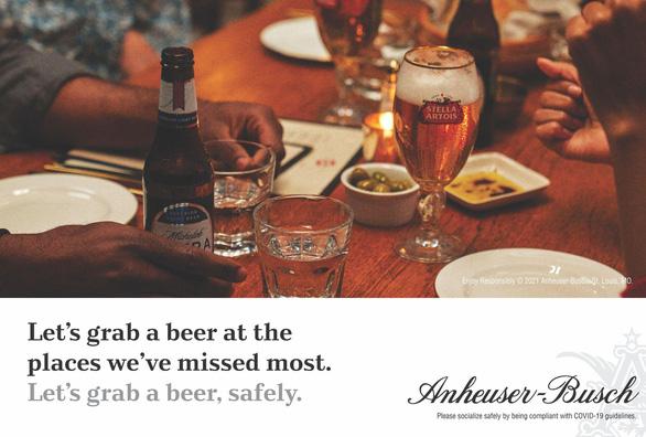 AB InBev tung chiến dịch Let's Grab A Beer - Ảnh 2.