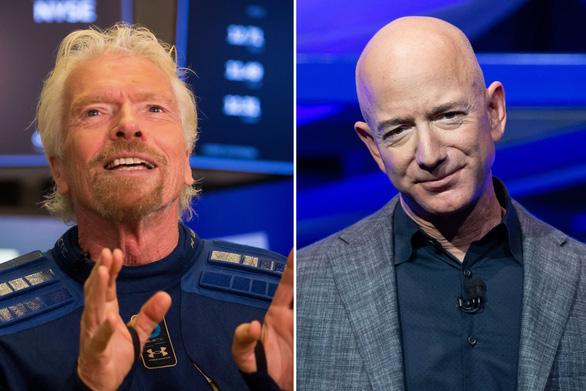 Tỉ phú Richard Branson nói không muốn chạy đua việc bay vào vũ trụ - Ảnh 1.