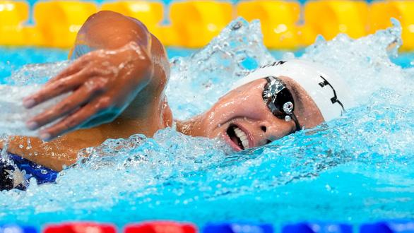 Erica Sullivan tập ở hồ đầy phân vịt để giành HCB Olympic Tokyo - Ảnh 1.