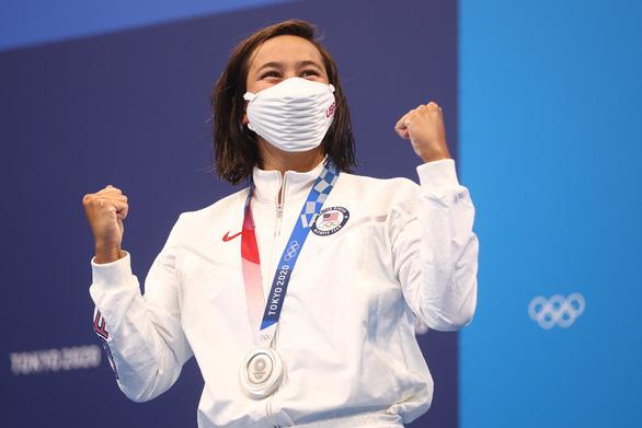 Erica Sullivan tập ở hồ đầy phân vịt để giành HCB Olympic Tokyo - Ảnh 2.