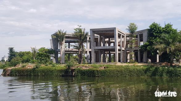 Thừa Thiên Huế xem xét thu hồi đất của công trình phá vỡ cảnh quan sông Hương - Ảnh 1.