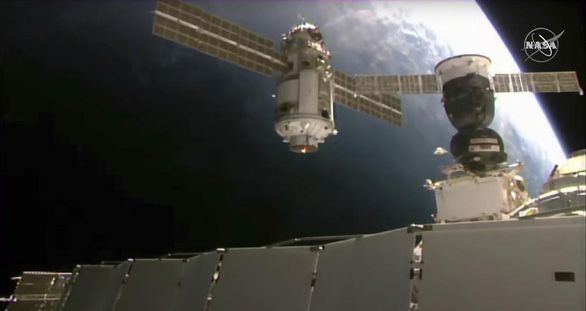 ISS trục trặc sau khi kết nối thành công module của Nga - Ảnh 1.
