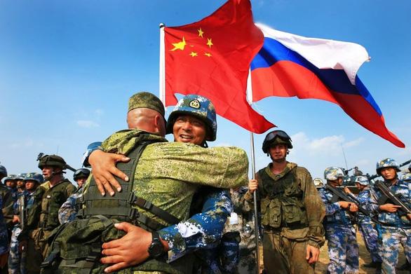 Nga, Trung Quốc tập trận ở Ninh Hạ - Ảnh 1.
