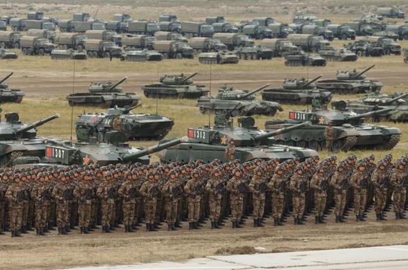 Nga, Trung tập trận chung quy mô lớn gửi thông điệp đến Mỹ - Ảnh 1.