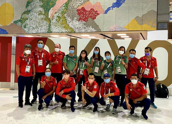 Một nửa đoàn thể thao Việt Nam tham dự Olympic Tokyo 2020 lên đường về nước - Ảnh 1.