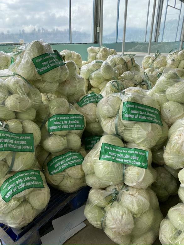 Lâm Đồng tặng 350 tấn rau củ quả cho TP.HCM và các tỉnh - Ảnh 4.