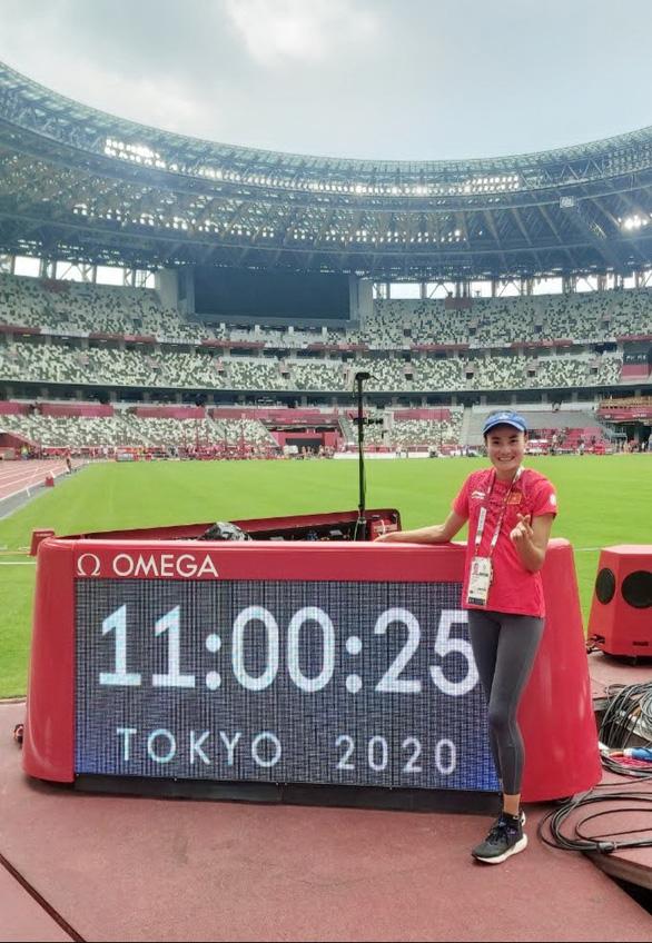 Quách Thị Lan đua với vận động viên số 1 thế giới - Ảnh 1.