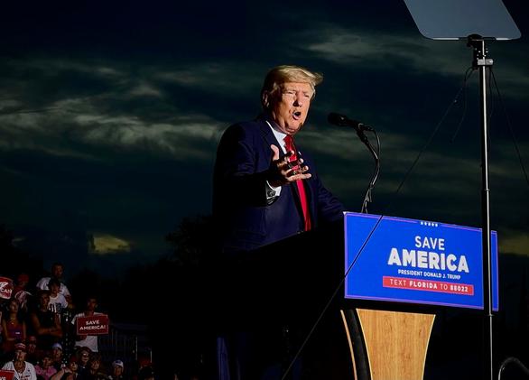 Ông Trump: Biên giới nước Mỹ đang trở nên nguy hiểm hơn bao giờ hết - Ảnh 1.