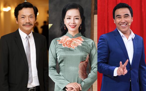 Quyền Linh mai mối online, Trung Anh và Chiều Xuân có nhiều phân đoạn tình cảm trong phim mới - Ảnh 1.