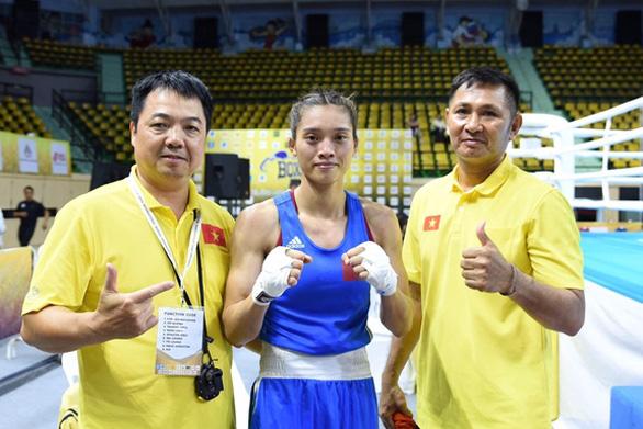 Võ sĩ boxing Nguyễn Thị Tâm giành vé đến Olympic Tokyo 2021 - Ảnh 1.