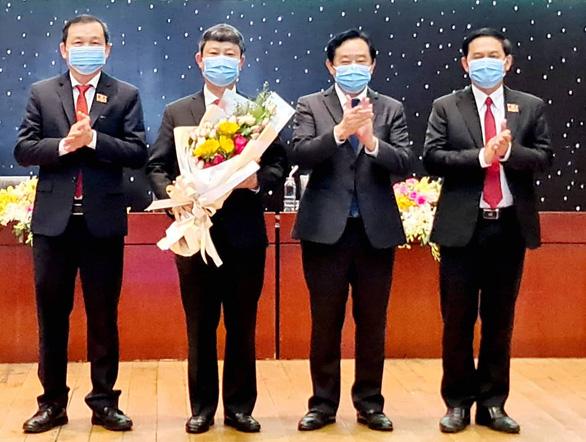 Ông Võ Văn Minh được bầu làm chủ tịch UBND tỉnh Bình Dương - Ảnh 1.