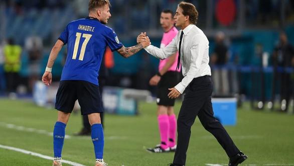 HLV Mancini dự báo Immobile sẽ quyết định trận bán kết giữa Ý với Tây Ban Nha - Ảnh 1.