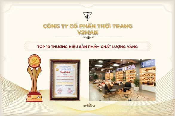 VSMan vào Top 10 Sản phẩm vàng - Dịch vụ vàng VN 2021 - Ảnh 1.