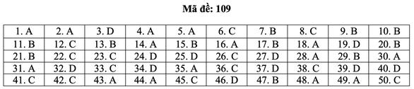 Bài giải môn toán kỳ thi tốt nghiệp THPT năm 2021 - Ảnh 15.