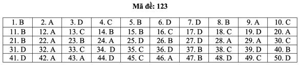 Bài giải môn toán kỳ thi tốt nghiệp THPT năm 2021 - Ảnh 29.