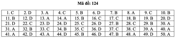 Bài giải môn toán kỳ thi tốt nghiệp THPT năm 2021 - Ảnh 30.