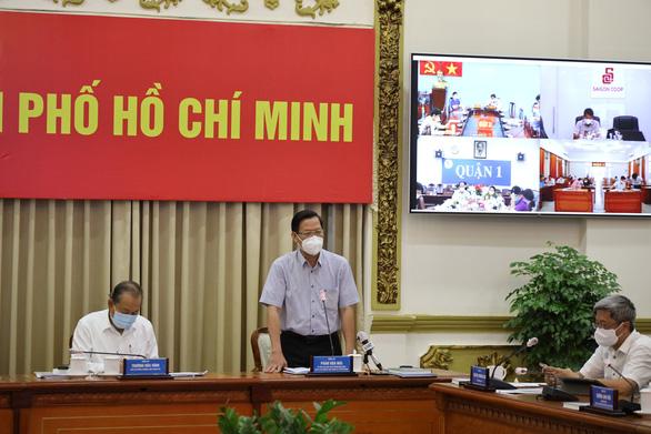 Ông Phan Văn Mãi: TP.HCM quyết liệt thực hiện chỉ thị 16 để kiểm soát dịch trong 15 ngày - Ảnh 1.
