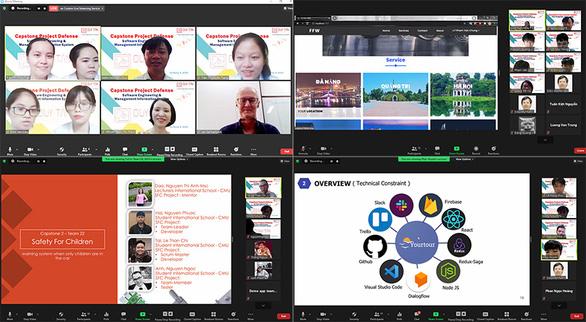 SV ĐH Duy Tân bảo vệ đồ án tốt nghiệp trực tuyến đảm bảo đúng tiến độ - Ảnh 1.