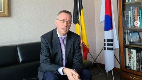 Vợ đại sứ Bỉ tại Hàn Quốc lại vướng bê bối đánh người - Ảnh 4.