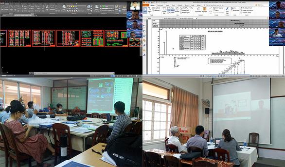 SV ĐH Duy Tân bảo vệ đồ án tốt nghiệp trực tuyến đảm bảo đúng tiến độ - Ảnh 2.