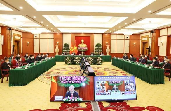 Tổng bí thư Nguyễn Phú Trọng phát biểu tại hội nghị các chính đảng thế giới - Ảnh 1.