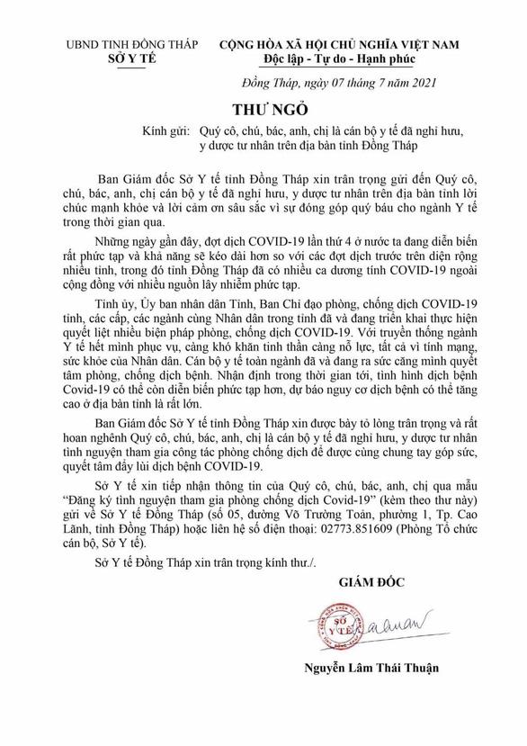 Dịch COVID ngày 8-7: Xe qua Bình Phước, phải có... giấy thông hành - Ảnh 6.