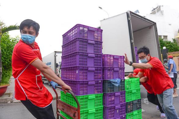 Tổ tiền phương của Bộ Công thương vào miền Nam hỗ trợ cung ứng hàng hóa - Ảnh 1.