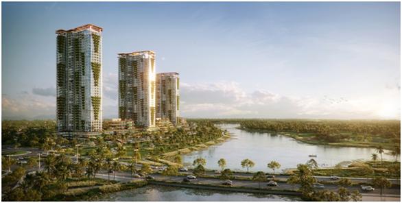 Cận cảnh tổ hợp căn hộ khoáng nóng Onsen 1.000 tỉ trong lòng đô thị Ecopark - Ảnh 1.