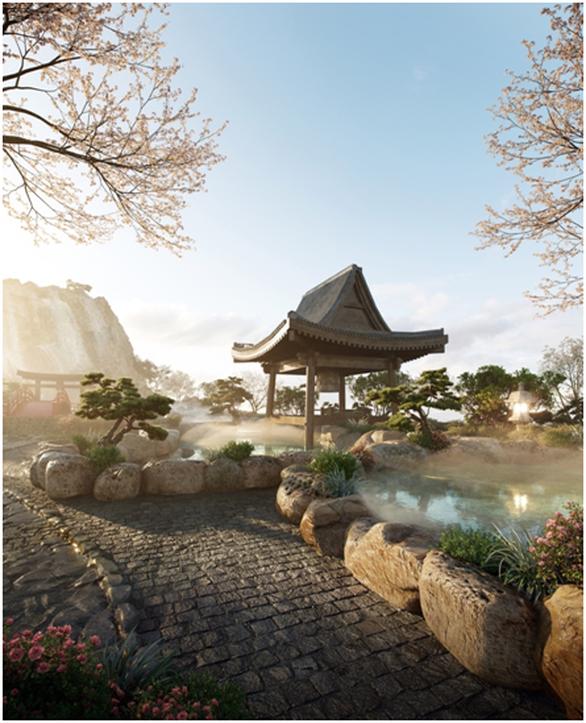 Cận cảnh tổ hợp căn hộ khoáng nóng Onsen 1.000 tỉ trong lòng đô thị Ecopark - Ảnh 4.