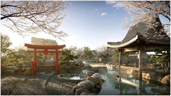 Cận cảnh tổ hợp căn hộ khoáng nóng Onsen 1.000 tỉ trong lòng đô thị Ecopark - Ảnh 5.