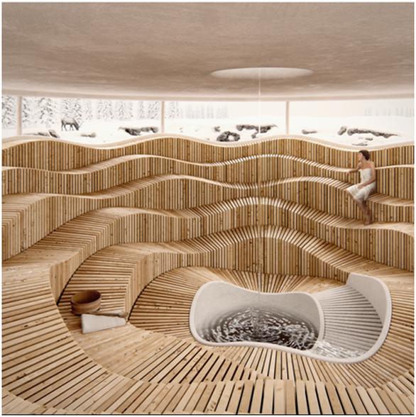 Cận cảnh tổ hợp căn hộ khoáng nóng Onsen 1.000 tỉ trong lòng đô thị Ecopark - Ảnh 7.