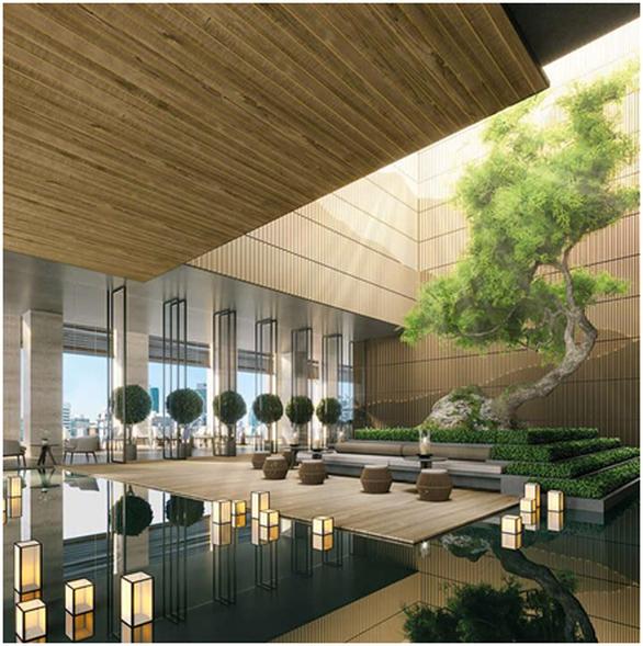 Cận cảnh tổ hợp căn hộ khoáng nóng Onsen 1.000 tỉ trong lòng đô thị Ecopark - Ảnh 8.
