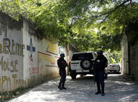 Đã bắt được kẻ ám sát tổng thống Haiti, nghi lính đánh thuê - Ảnh 1.
